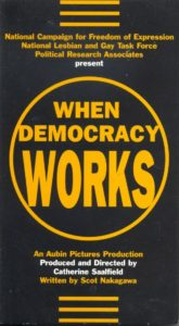 When Democracy Works video box