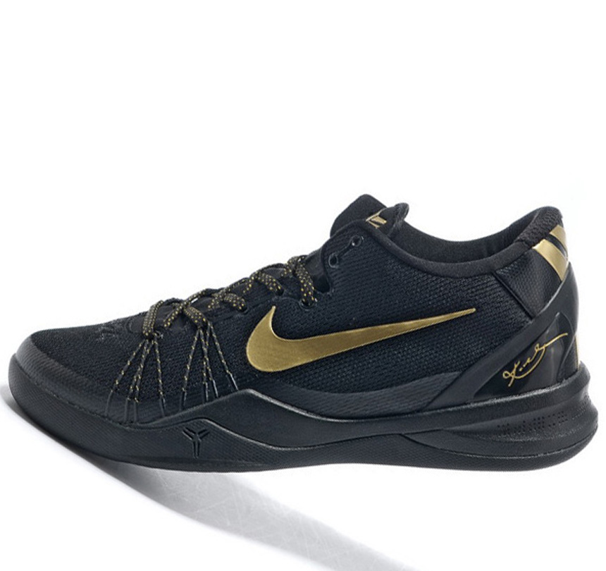 Nike Kobe VIII 8 System black golden Shoes