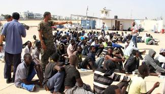 Migrants rescued by Libyan coast guard near Tripoli