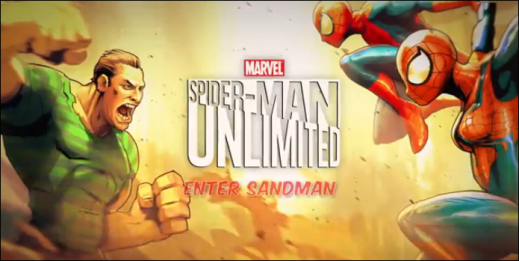 Spider-Man Unlimited Enter Sandman for Windows Phone