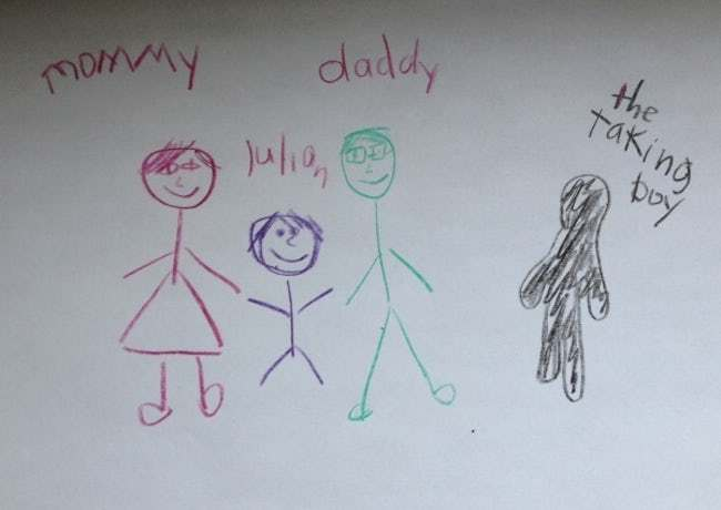 Talking Boys Are the Worst Kin is listed (or ranked) 30 on the list 51 Unintentionally Hilarious Kids' Drawings