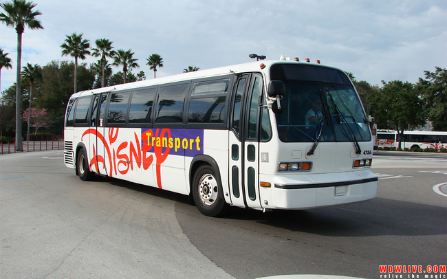 10.) The Disney Bus Transportation system is the 3rd largest bus system in Florida.