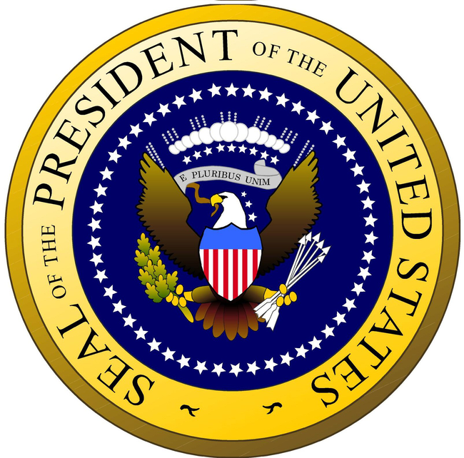 2.) There are only 3 Presidential Seals housed in the country. The Oval Office, The hall where the Liberty Bell is housed, and The Hall of Presidents in Disney World.