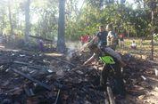 Gara-gara Anak Bermain Korek Api, Rumah Petani di Ponorogo Terbakar