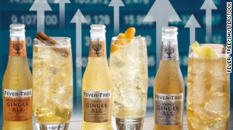 fever tree up arrows