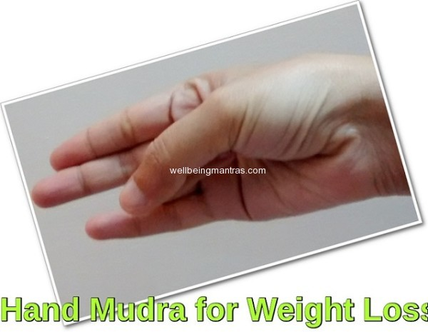 Hand Mudra for Weight Loss