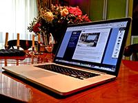 MaxBook Pro Retina auf Kirsche