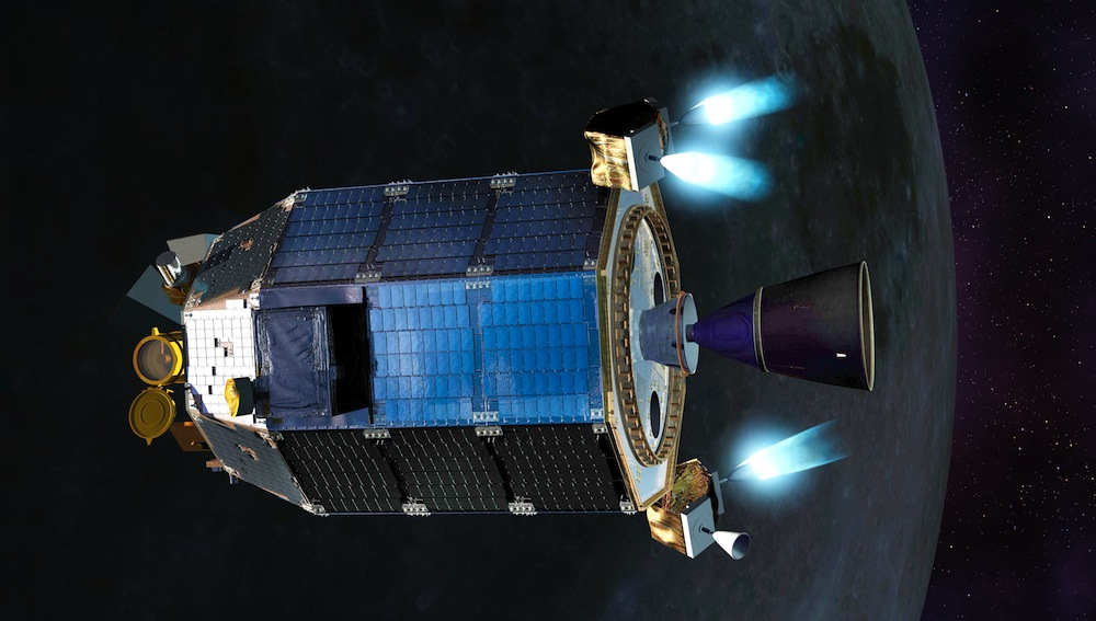 NASA Returns to the Moon With LADEE
