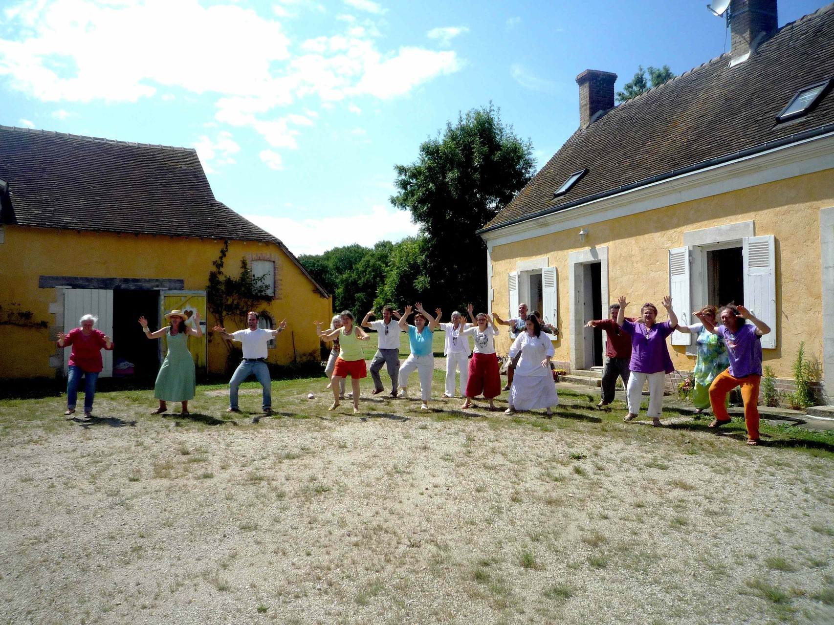 Healing Haka with the Shaman Formation, France Aug 14