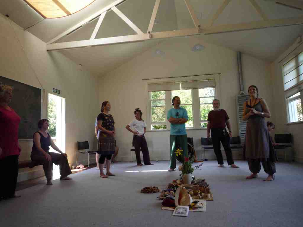 Grandmothers Healing Haka seminar, Christchurch, New Zealand Dec. 2011§