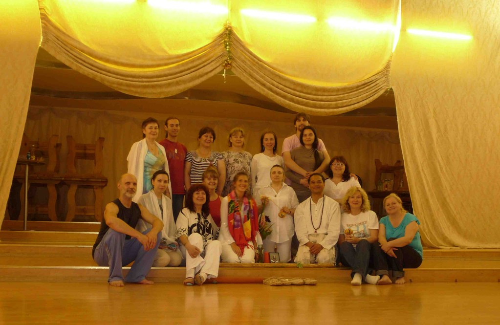 Intensive Level II group in Moscow