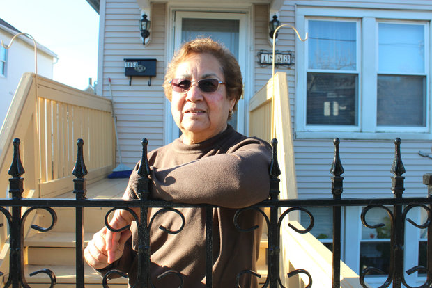 Amalia Alejo, who immigrated to the U.S. from Mexico, has called Pilsen home since 1975. Now 70, she said she hopes to one day pass her 19th Street home down to her daughter.