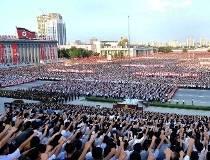 North Korea Rally