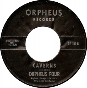 "Orpheus Four: ""Caverns"" [Orpheus OR-101-B]"