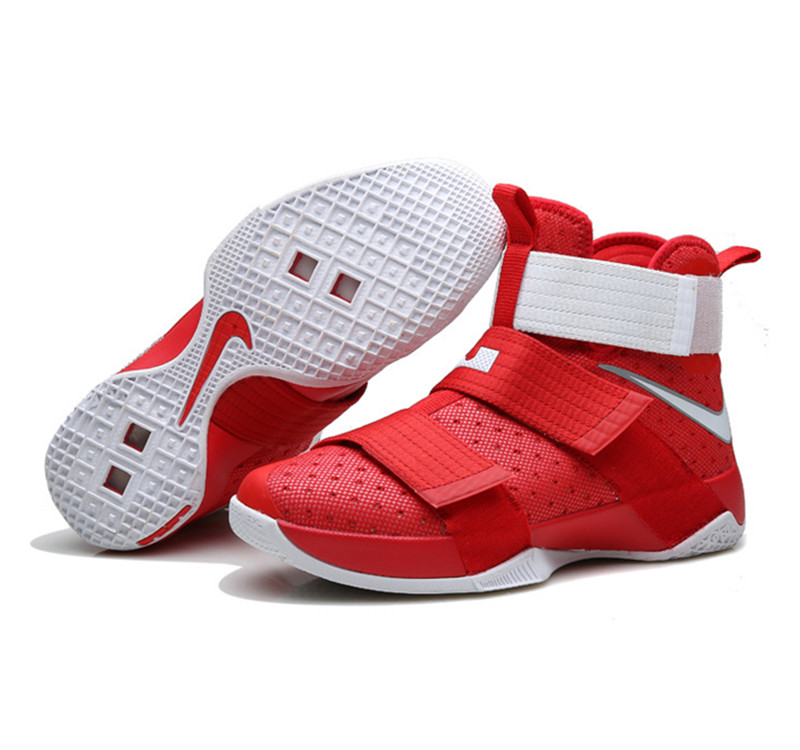 Nike Lebron Soldier 10 X Shoes red white