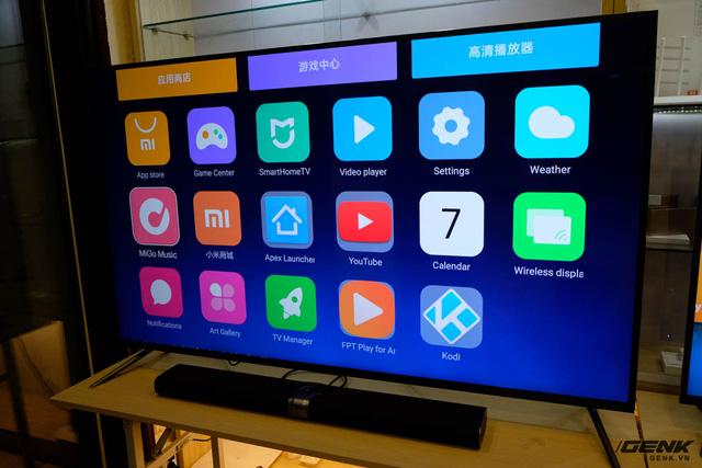 Tivi Thông Minh Xiaomi Mi TV3s 65 inch Slim