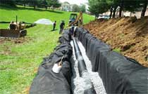 Perforated Pipe for Runoff