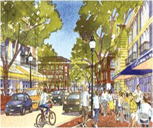 Vision for the Village Center at the Former South Weymouth Naval Air Station