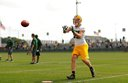 Packers hold second practice at Nitschke Field