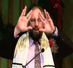 Image result for pictures of rabbis performing  sign of shin