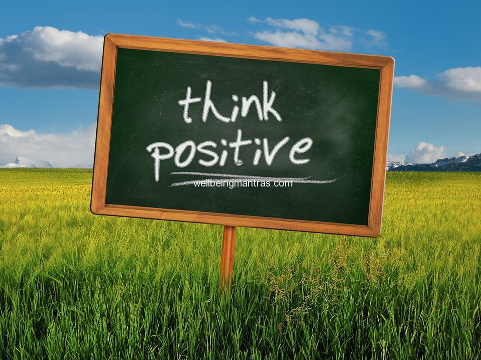 What positive thinking brings to your life