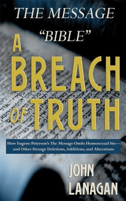 """BOOKLET - The Message """"Bible"""" - A Breach of Truth"""
