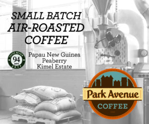 Shop for top-rated coffee at Park Avenue Coffee
