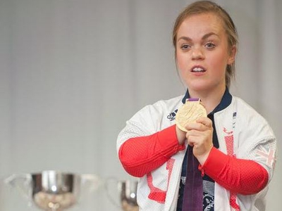 Walsall's swimming superstar Ellie Simmonds goes back to school