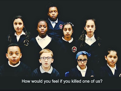 How would you feel if you killed one of us? Smethwick pupils warn speeding drivers - WATCH