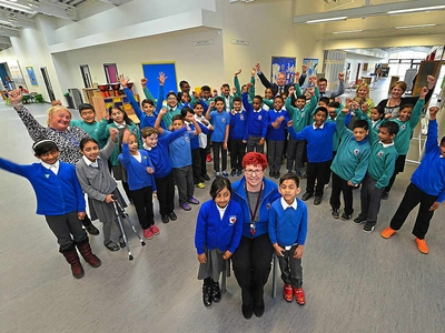 Top-class start for new Tipton primary school
