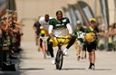 Packers ride kids' bikes to practice Tuesday