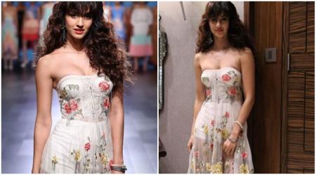 Photos: Disha Patani flaunts her hot looks by turning a whiteprincess