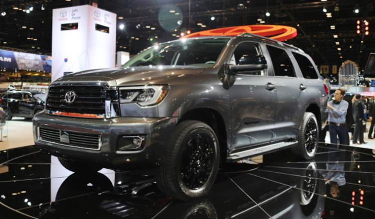 2020 Toyota Sequoia Review and Engine