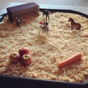 Stables sensory play