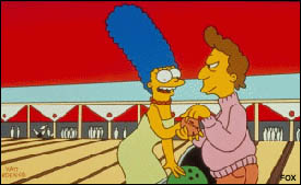 Marge bowling