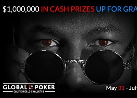 Global Poker's Online World Challenge Hitting Record Numbers