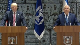 President Trump Gives Remarks with President Reuven Rivlin of Israel