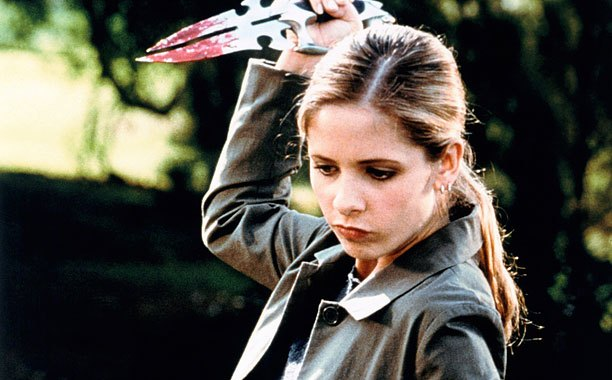 You can't be called the Vampire Slayer without knowing how to handle yourself. All Buffy uses to take down her opponents are her hands, her…