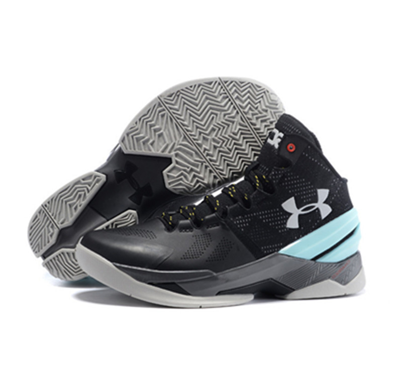 Under Armour Stephen Curry 2 Shoes Black Blue