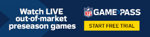 Start Free Trial of NFL Game Pass!