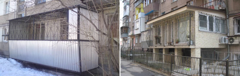 Балкон на первом этаже: пристройка к дому, строительство, проект балкона, сделать лоджию, установка балкона, изготовление, фото