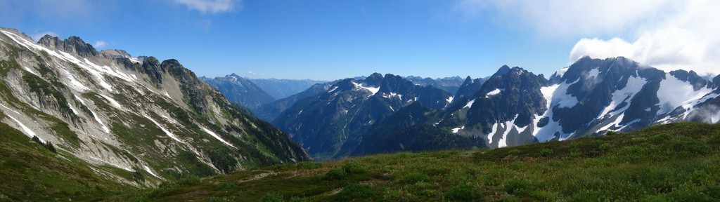 Cascade Pass Panorama