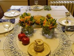 Cool Rosh Hashanah Table Decoration ideas