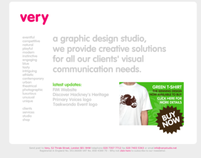 a graphic design studio, we also provide very wrong apostrophes.