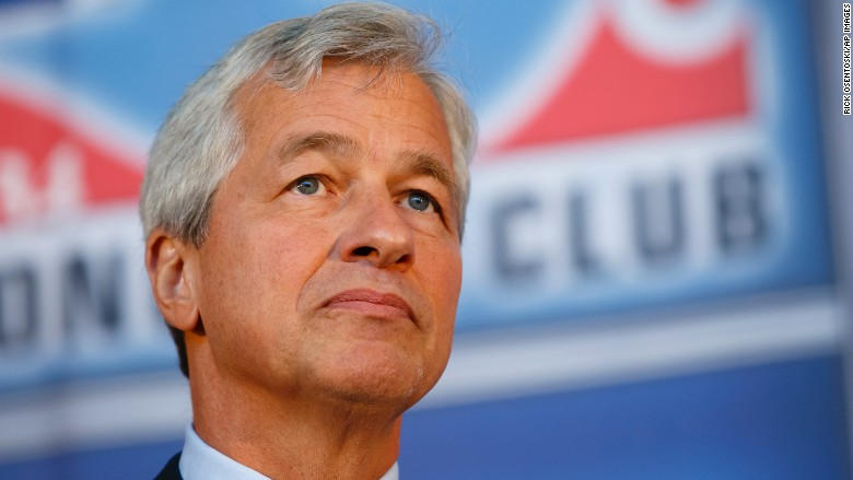 JPMorgan CEO is Ok with spending larger taxes