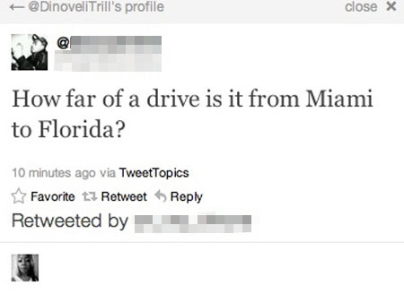 stupid people -how far is miami to floris