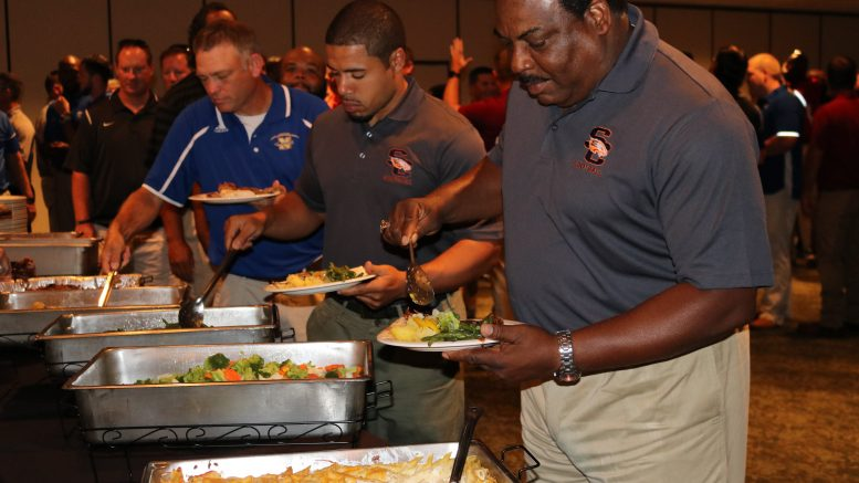 CCSD Football Coaches Gather for Kick Off Luncheon