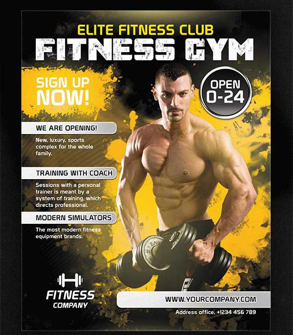 fitness-gym-free-promotional-flyer-psd-template