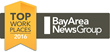 Course Hero Receives 2016 Top Workplace Award from Bay Area News Group