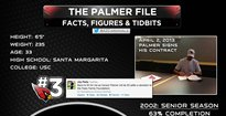 The History Of Carson Palmer